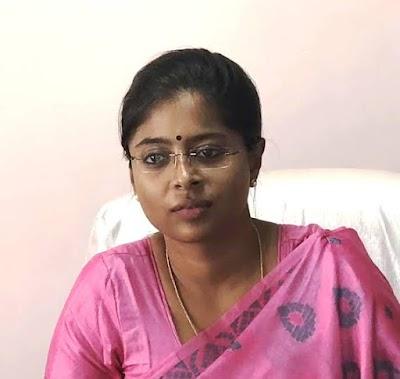 देर रात सर्जरी सुश्री अनुग्रह पी.होंगी शिवपुरी की नई कलेक्टर