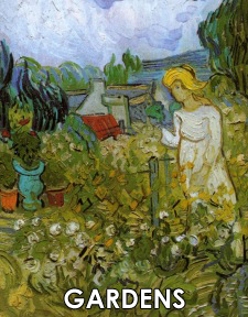 Vincent van Gogh Paintings of Gardens