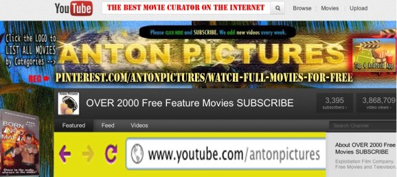 YouTube Channel Anton Pictures Free Movies