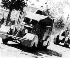 Французские бронемашины на польском фронте: 1919 год