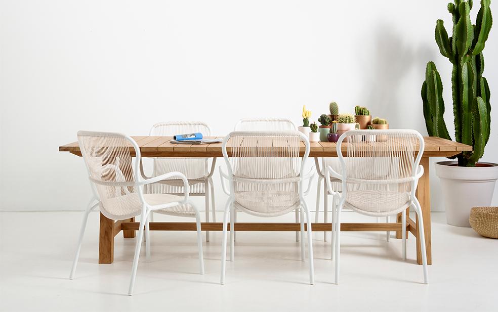 Loop chair White