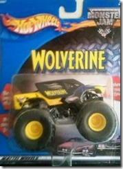 Hot Wheels Wolverine mo nster truck MATTEL WHEELS
