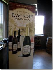 L*ACADIE Vineyards, NS