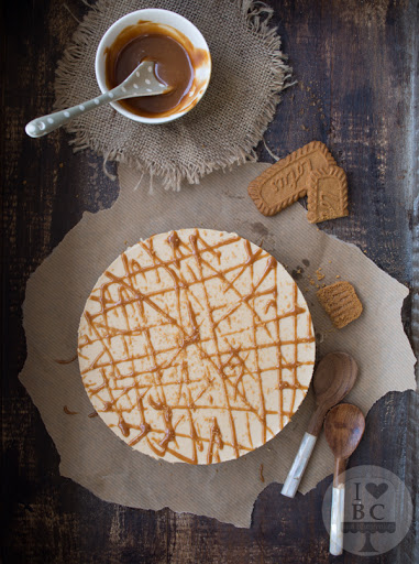 Speculoos Cheesecake {Sin Horno}