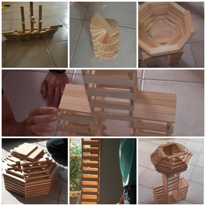 Passion Bois en ce qui concerne mes 3 loulous: passion jeu en bois type kapla
