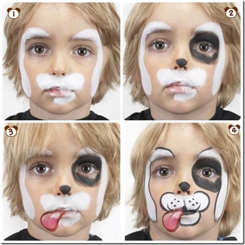 Maquillaje de perro