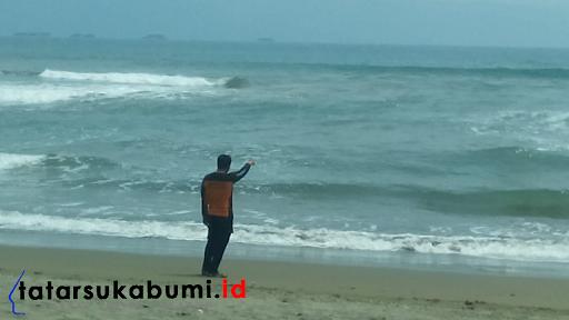 2 TKP Korban Tenggelam di Pantai Palabuhanratu, 1 Tewas 1 Hilang Terbawa Arus