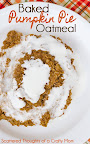 Baked Pumpkin Pie Oatmeal