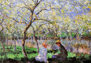 Le printemps - E. Monet