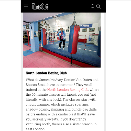 North London Boxing Club on Google