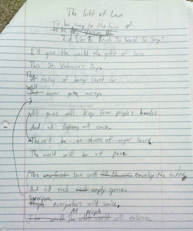 The Gift of Love rough draft