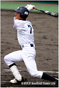 2回、有田くんのセンターオーバーフェンス直撃の3塁打で反撃