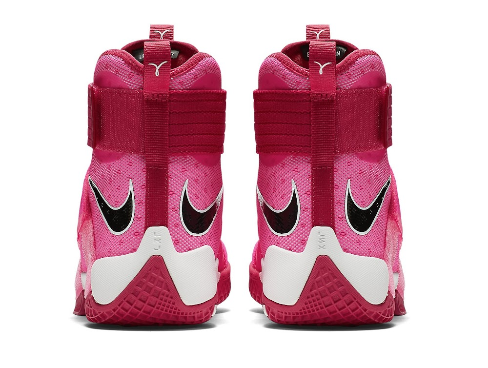 new concept 2a591 0f6fd Add Think Pink Kay Yow Into the LeBron Soldier 10 Mix ...