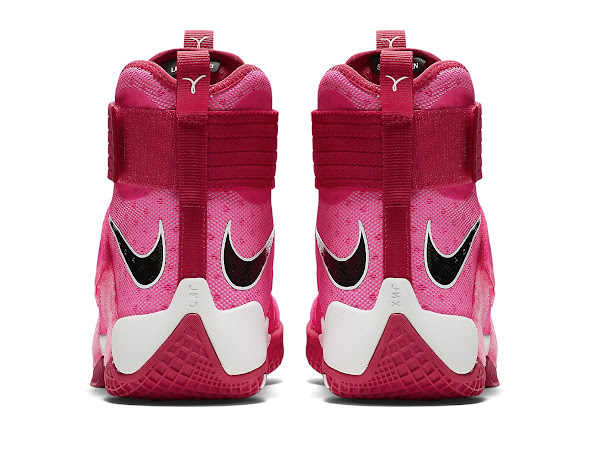 Add Think Pink  Kay Yow Into the LeBron Soldier 10 Mix