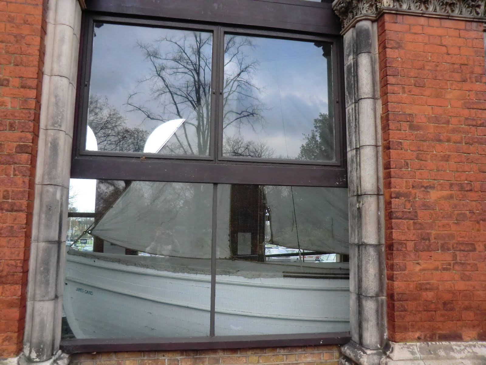 CIMG4975 The James Caird (Shackleton's lifeboat) in Dulwich College