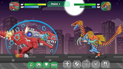 机器镰刀龙 组装机器恐龙大战