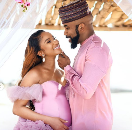 ''My baby had a baby and he's everything we prayed for'' Banky W celebrates his wife Adesua as she turns a year older