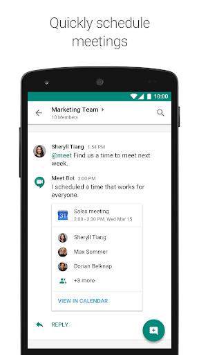 Hangouts Chat 2019.06.20.255711685_prod screenshots 2