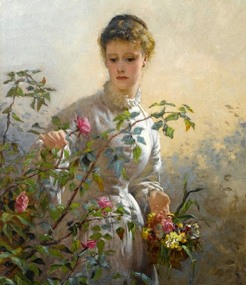 George Elgar Hicks - A Summer Bouquet