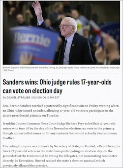 20160311_1812 Sanders wins Ohio judge rules 17-year-olds can vote on election day (Politico).jpg