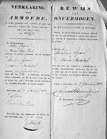 Apon, Abraham Huwelijk 29-02-1832 Rotterdam Verklaring van armoede.jpg