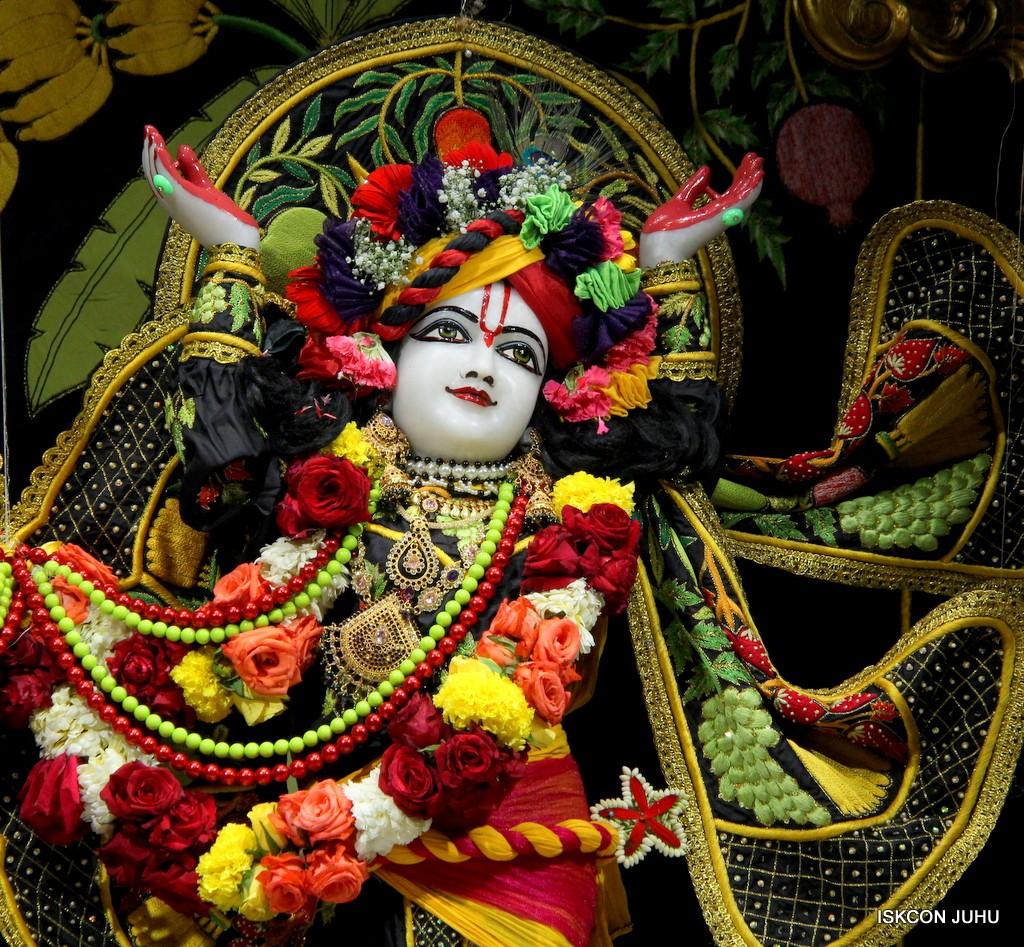 ISKCON Juhu Sringar Deity Darshan on 31st Dec 2016 (36)
