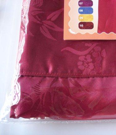 กางเกงแพรจีนแท้รุ่นเอวยาง สีแดงเลือดหมู (กางเกงผู้ชาย กางเกงนอนผู้ชาย )