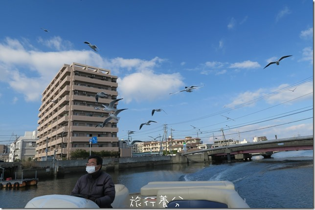 四國德島 葫蘆島周遊船 新町川水際公園 (47)