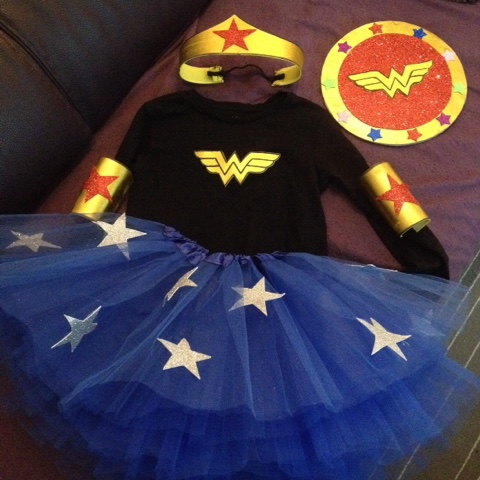 Disfraz Wonder Woman hand made DIY