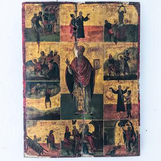 Saint Charalambos Icon