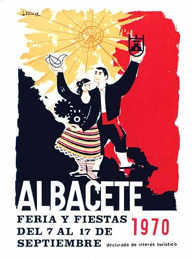 Cartel Feria Albacete 1970