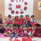 Red Day Celebration by Playgroup Section at Witty World, Chikoowadi (2018-19)