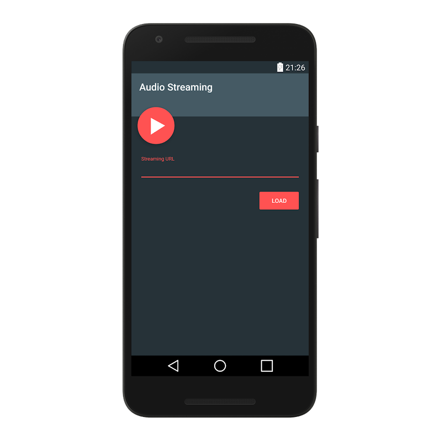 Audio Streaming- screenshot