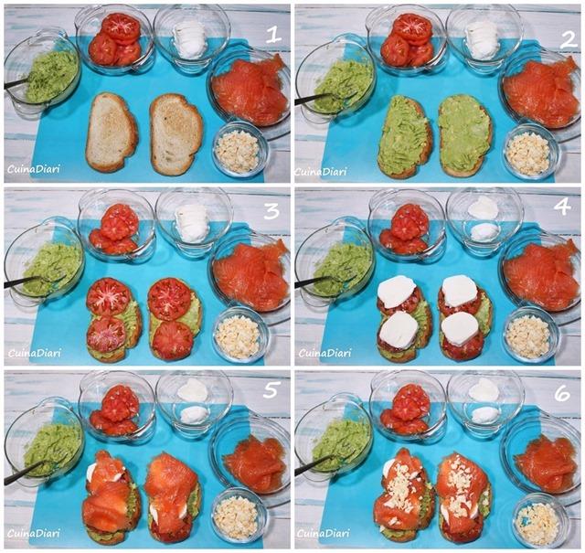 4-Torrada alvocat salmo tomaca mozarella cuinadiari-2