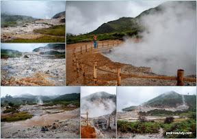Źródła geotermanlne, Dieng Plateau