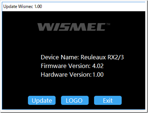 Firmware2 thumb%25255B2%25255D.png - 【MOD】「Wismec Reuleaux RX2/3 200W TC Box Mod」レビュー。18650を2本か3本選択できるハイワッテージMOD!!【大画面液晶・ファームウェア書き換え可】