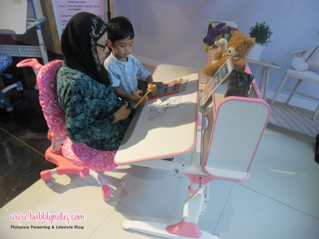 ERGONOMIC STUDY DESK - SUNPERRY KIDS (8)