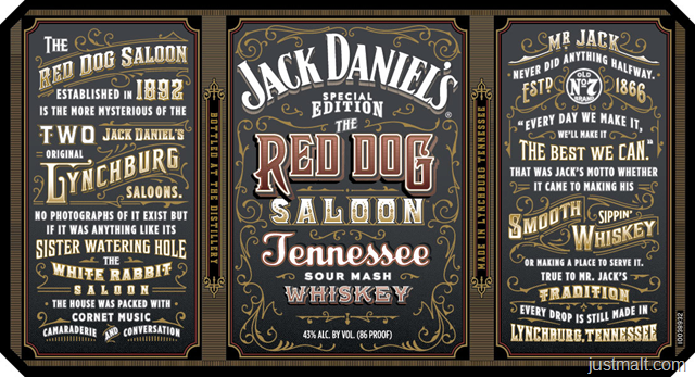 Jack Daniel's Special Edition - The Red Dog Saloon