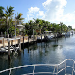 leaving the port at key largo in Key Largo, Florida, United States