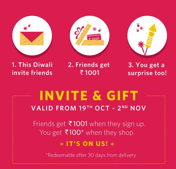 Register and Get Rs.1001 worth of Myntra Credit for Free [ new users]