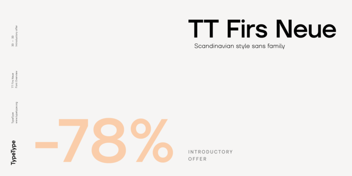 Download TT Firs Neue Font Family From TypeType