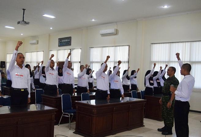 TNI berikan wawasan kebangsaan bagi calon Paskibra Kabupaten Tuban