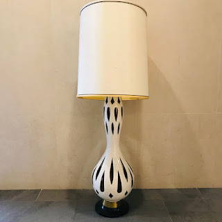 Nardini Studio Mid-Century Modern Ceramic Lamp