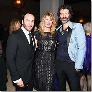 Tom Ford, Laura Dern, (wearing Bottega Veneta), Jorn Weisbrodt