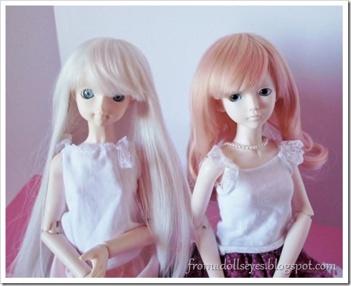 For My Doll Bjd Wig K-002 Review: Wigs Switched!