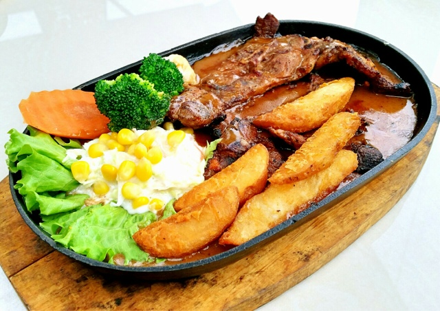 Lamb Grilled RM15.90 Free Vanilla Float