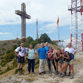 Milenijski križ na vrhu visok 66 metara
