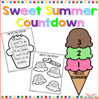 Summer Countdown display