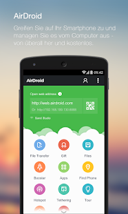 AirDroid - Android on Computer- screenshot thumbnail