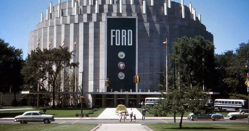 Highland Park Ford >> Ford Rotunda of Dearborn   Amusing Planet